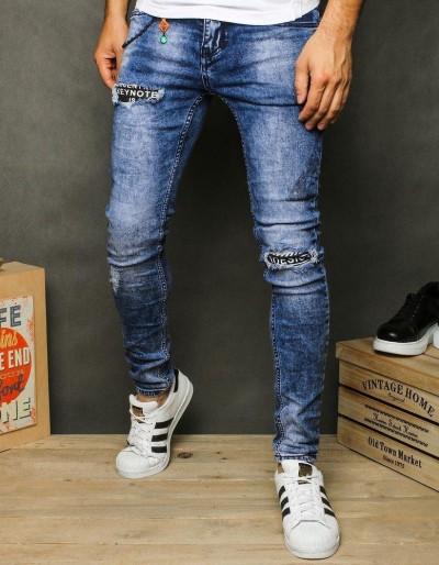 Pánské modré džínové kalhoty UX2622