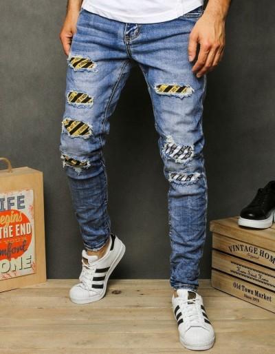 Pánské modré džínové kalhoty UX2624