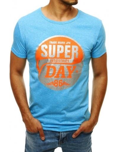 Modré pánské tričko RX4254 s potiskem