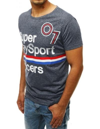 Pánské tmavě modré tričko RX4263