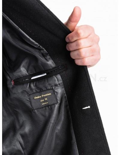 Men's coat C425 - black