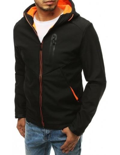 Černá pánská softshellová bunda s kapucí TX3328