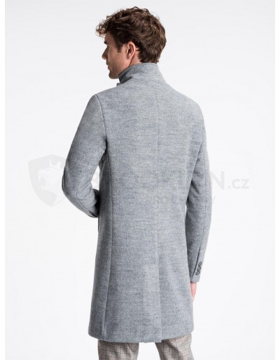 Men's coat C425 - grey
