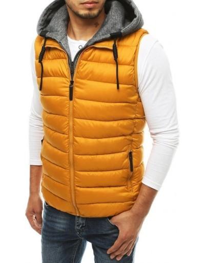Pánská prošívaná vesta s kapucí TX3341