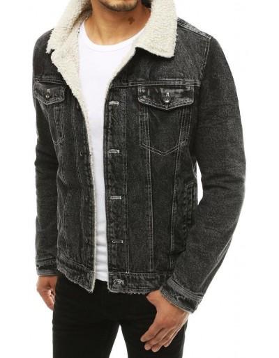 Černá pánská džínová bunda TX3347