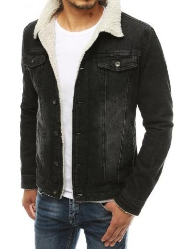 Černá pánská džínová bunda TX3349
