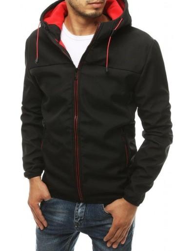 Černá pánská softshellová bunda s kapucí TX3353