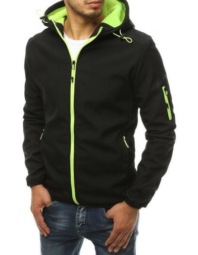Černá pánská softshellová bunda s kapucí TX3355