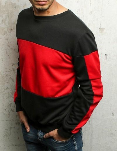 Bluza męska bez kaptura czarna BX4661