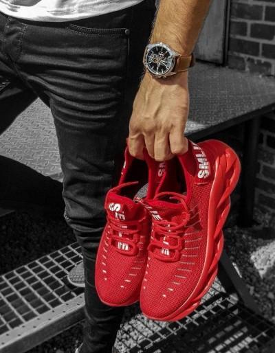Červené pánské boty ZX0166