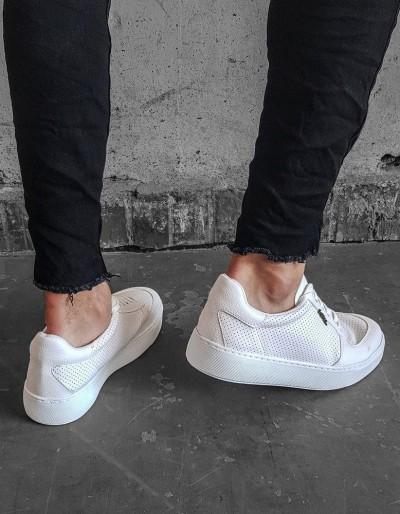 Buty męskie białe ZX0176