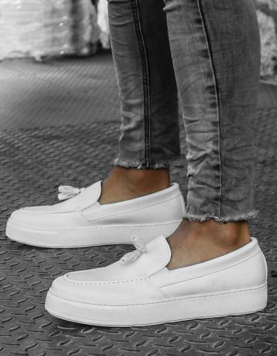 Buty męskie białe ZX0178