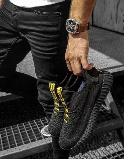 Černé pánské boty ZX0181