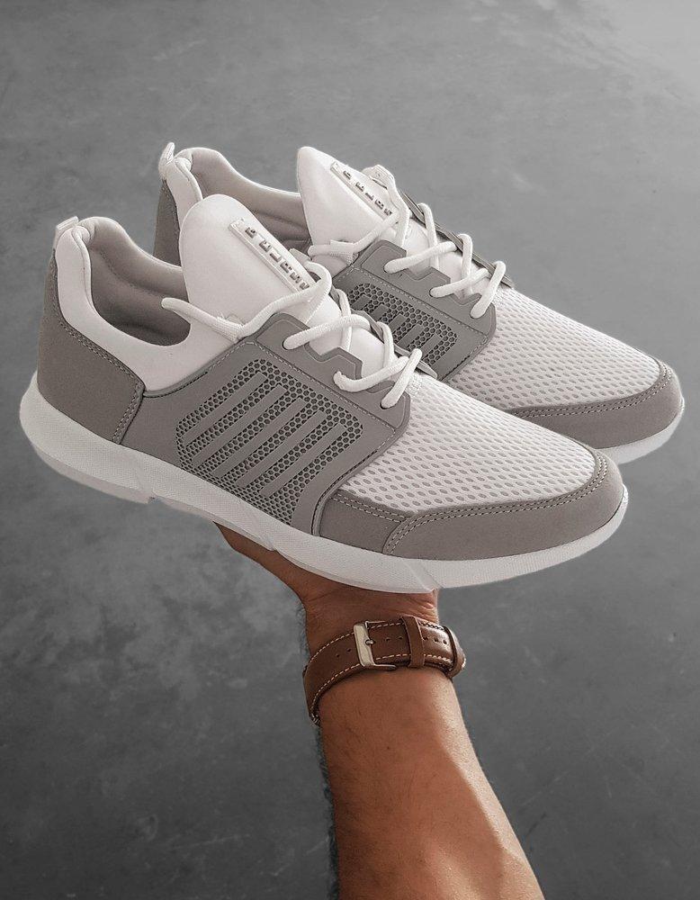 Bílé pánské boty ZX0182
