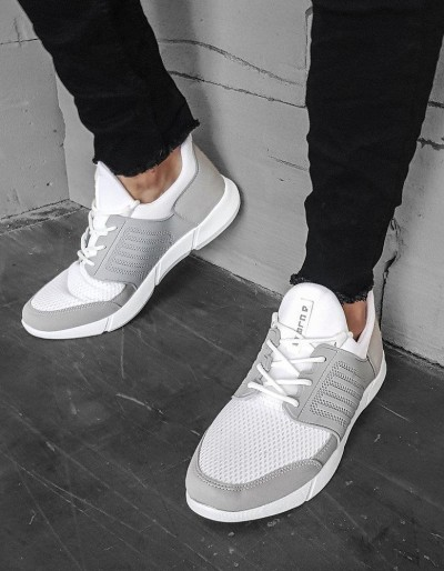 Buty męskie białe ZX0182