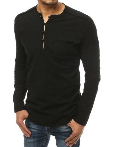 Černé pánské tričko DX1903