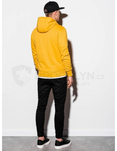 Men's hooded sweatshirt B979 - yellow