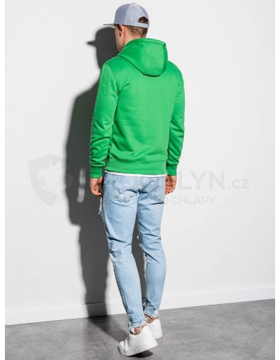 Men's hooded sweatshirt B979 - green
