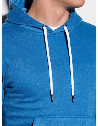 Men's hooded sweatshirt B979 - blue