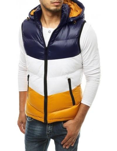 Pánská prošívaná vesta s kapucí TX3381 námořnická modrá