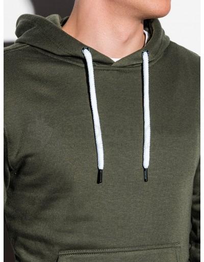 Men's hooded sweatshirt B979 - khaki