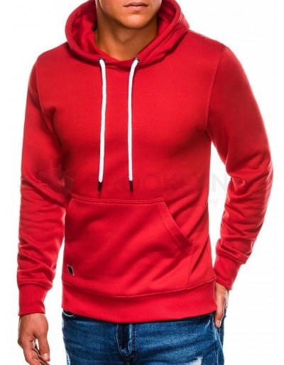 Men's hooded sweatshirt B979 - red