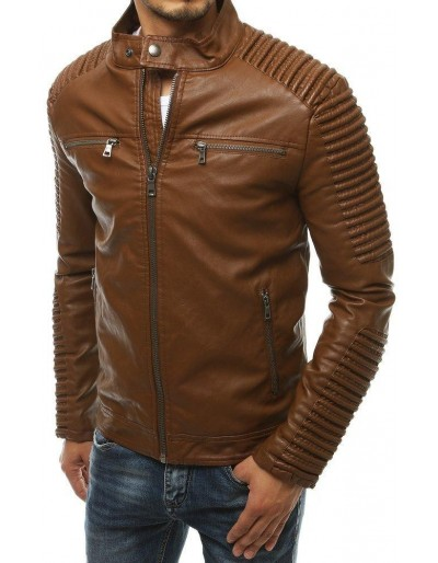 Pánská kožená velbloudí bunda TX3399