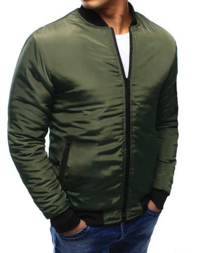 Kurtka męska bomber jacket zielona TX3407