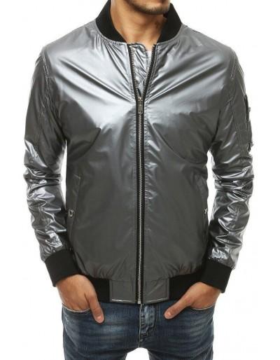 Kurtka męska bomber jacket szara TX3409