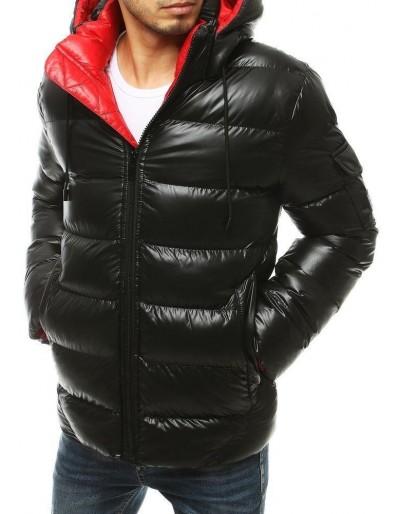Pánská prošívaná zimní bunda černá TX3424