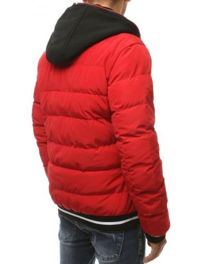 Kurtka męska zimowa pikowana czerwona TX3430