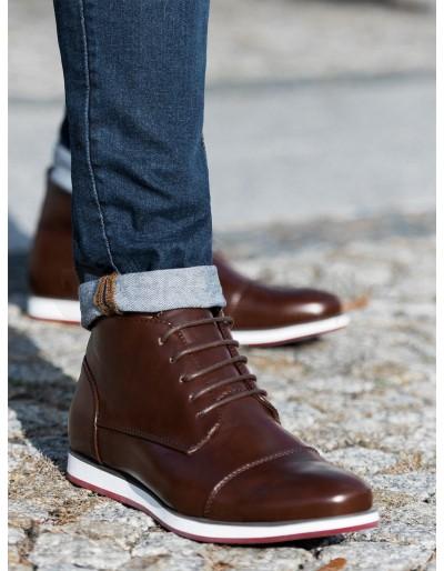 Pánská obuv T326 - hnědá