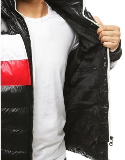 Kurtka męska zimowa pikowana czarna TX3434