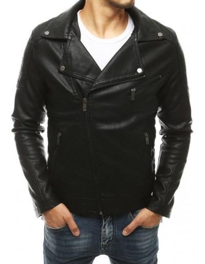 Pánská kožená bunda ramones černá TX3451