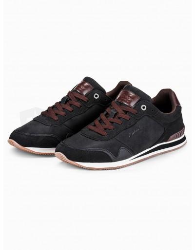 Men's casual sneakers T332 - black