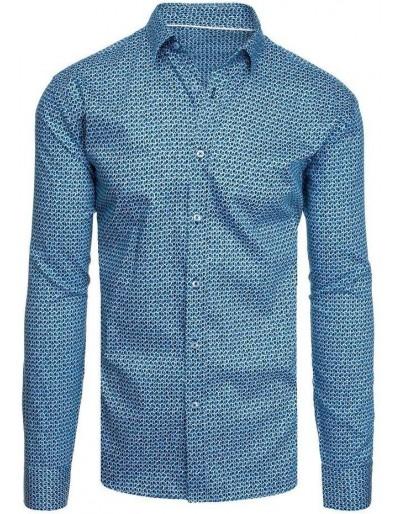 Námořnická modrá pánská košile DX1947
