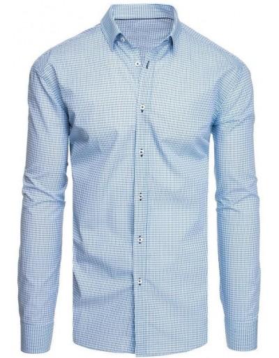 Bílé pánské tričko se vzory DX1948