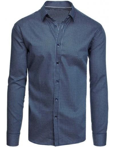 Námořnická modrá pánská košile DX1953