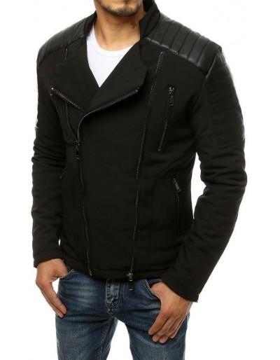 Černá pánská bunda bez kapuce TX3469