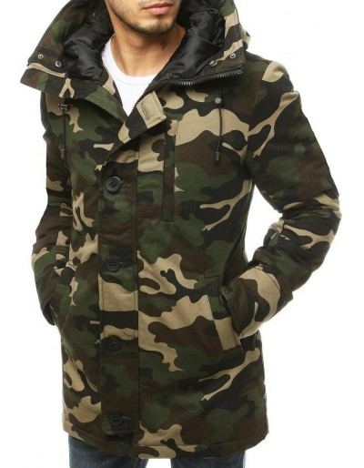 Pánská zimní bunda s kapucí TX3476