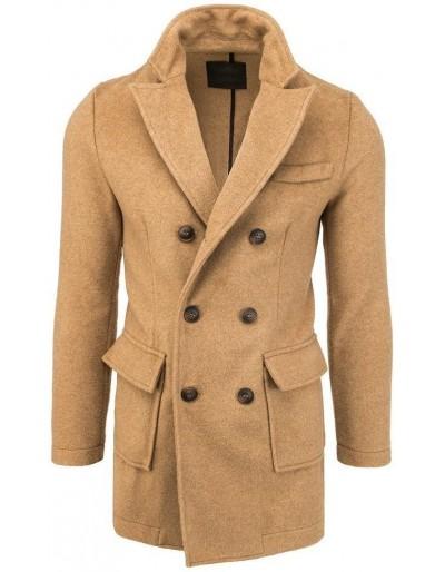 Pánský dvouřadový velbloudí kabát CX0412