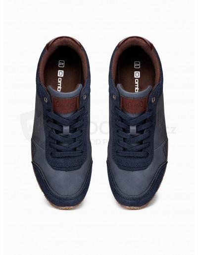 Men's casual sneakers T332 - navy