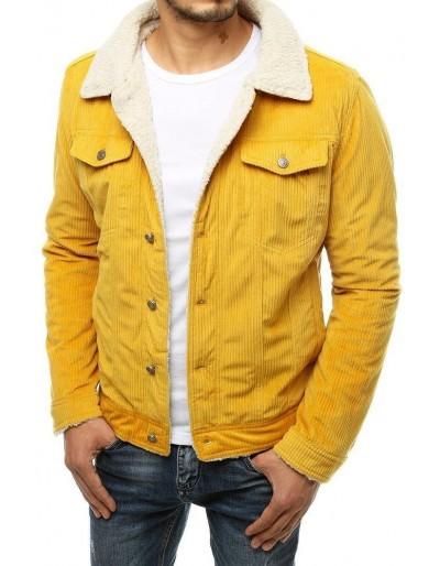 Pánská žlutá manšestrová bunda TX3500