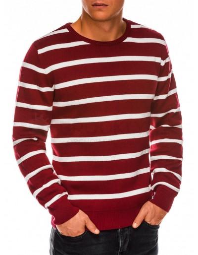 Pánský svetr E155 - tmavě červený
