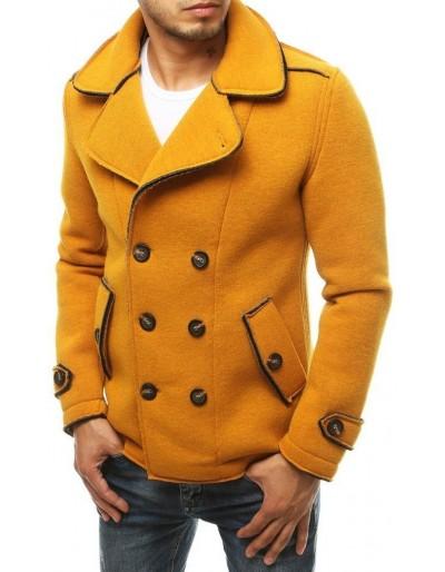 Pánský dvouřadový velbloudí kabát CX0417