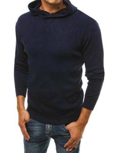 Tmavě modrý pánský svetr WX1464