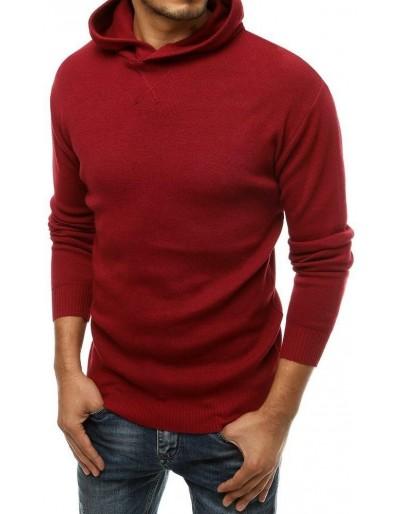 Bordový pánský svetr WX1468