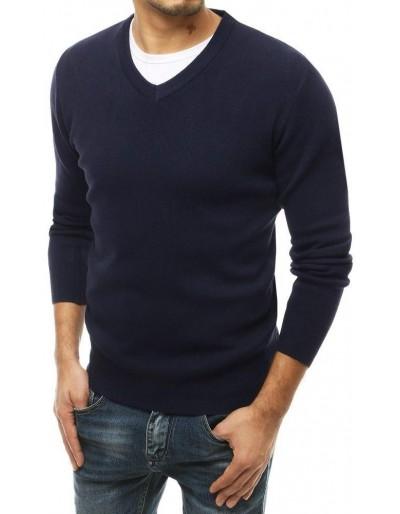 Pánský námořnický svetr s výstřihem do V WX1474