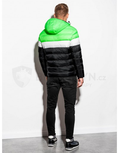 Men's Autumn quilted jacket C434 - green