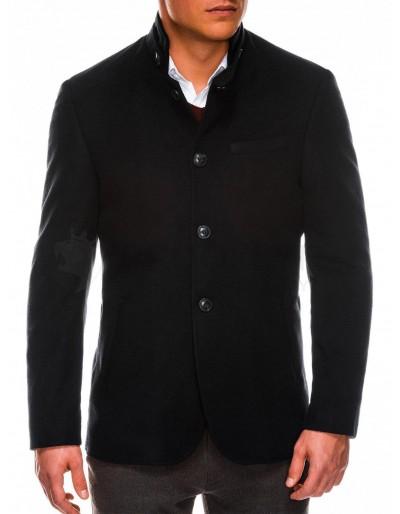 Men's autumn coat C427 - black